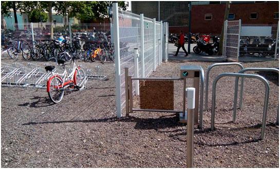 Control de acceso para el BICIPARK, un parking para bicicletas
