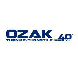 Logo Ozak turnike-turnstile 40 years