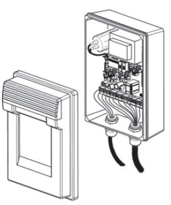 Connexiones pilona automática