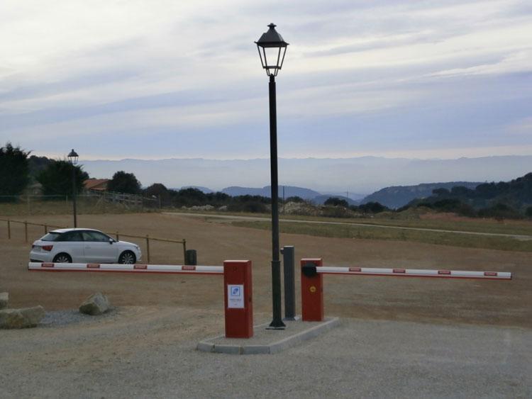 control de acceso en aparcamientos
