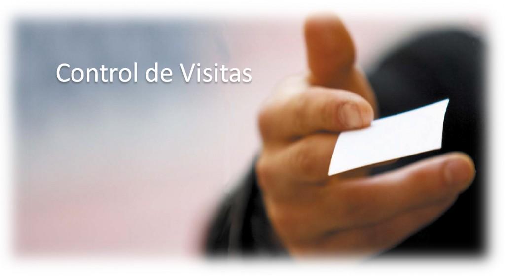 control de visitas