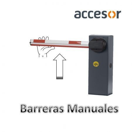Barrera manual