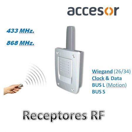 Receptores RFID