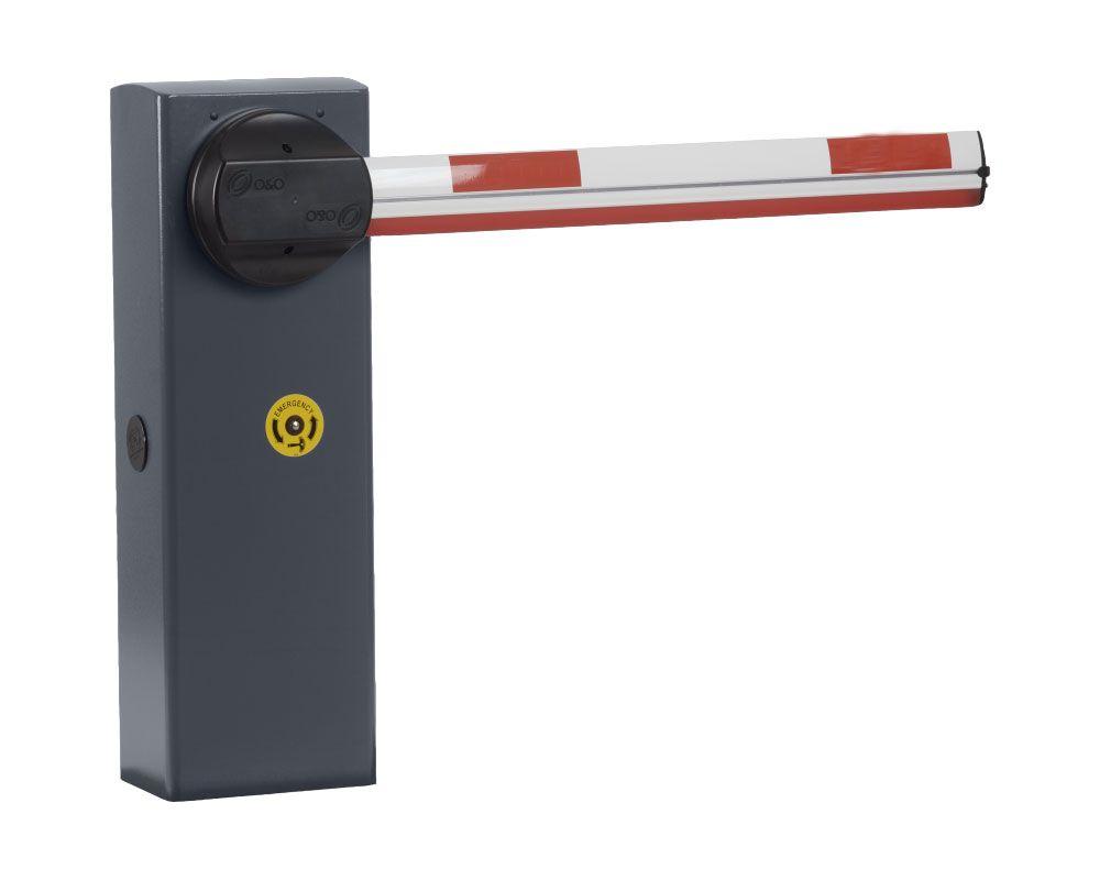 Barrera automatica basica hasta 6 metros